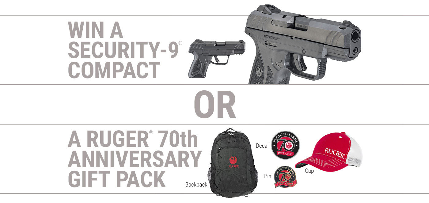 Security-9® Compact Pistol Giveaway