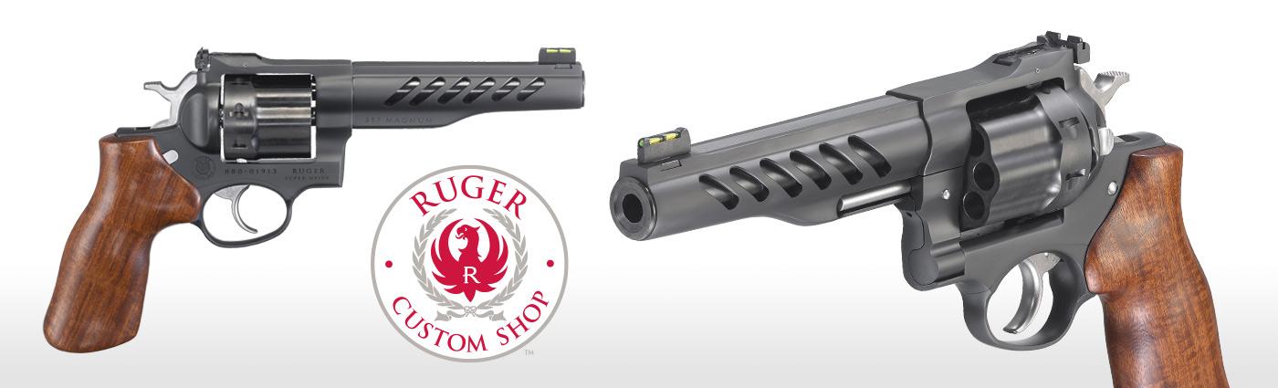 Ruger® Super GP100® * Double-Action Revolver Models